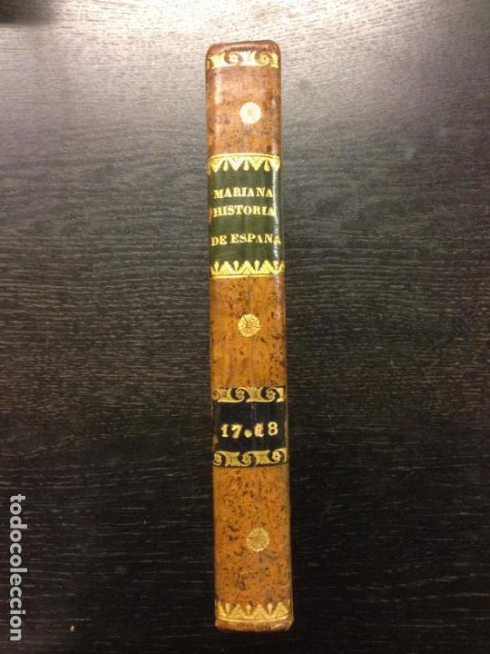 Libros antiguos: ADICION A LA HISTORIA DE ESPAÑA, P. JUAN DE MARIANA Y D. CAYETANO ROSELL, 1841 (TOMO XVII Y XVIII) - Foto 2 - 164192794