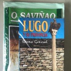 Libros antiguos: LUGO, LUCUS O SAVIÑAO, GALICIA. HISTORIA LOCAL . Lote 164197366