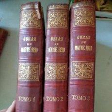 Libros antiguos: OBRAS COMPLETAS DE MAYNE REID - 3 TOMOS. Lote 164254698