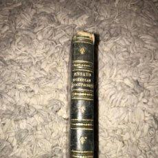 Libros antiguos: ENSAYO SOBRE LAS PREOCUPACIONES. BARÓN DE HOLBACH. TRADUCIDO POR JOAQUÍN DE MORA. 1823. Lote 164287802