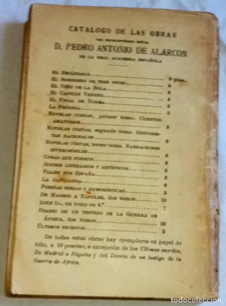 Libros antiguos: El Final De Norma; D. Pedro A. De Alarcón - Sucesores De Rivadeneyra 1931 - Foto 2 - 164549894