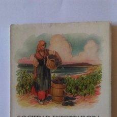 Libri antichi: AB-334.- SOCIEDAD EXPORTADORA TARRACONENSE, SUCESORA DE J. DE MULLER.- 1926.- ( TARRAGONA ) . Lote 164601582