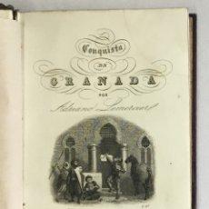 Libros antiguos: HISTORIA DE LA CONQUISTA DE GRANADA, EXTRACTADA DE LA QUE ESCRIBIÓ... - LEMERCIER. ADRIANO.. Lote 164602174