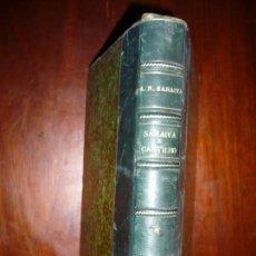 Libros antiguos: SARAIVA E CASTILHO A PROPOSITO DE OVIDIO A.R. SARAIVA 1862 LONDRES. Lote 164763982