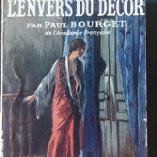 Libros antiguos: LIBRO LÉNVERS DU DÉCOR, AÑO PUBLICACIÓN 1926. Lote 164778334