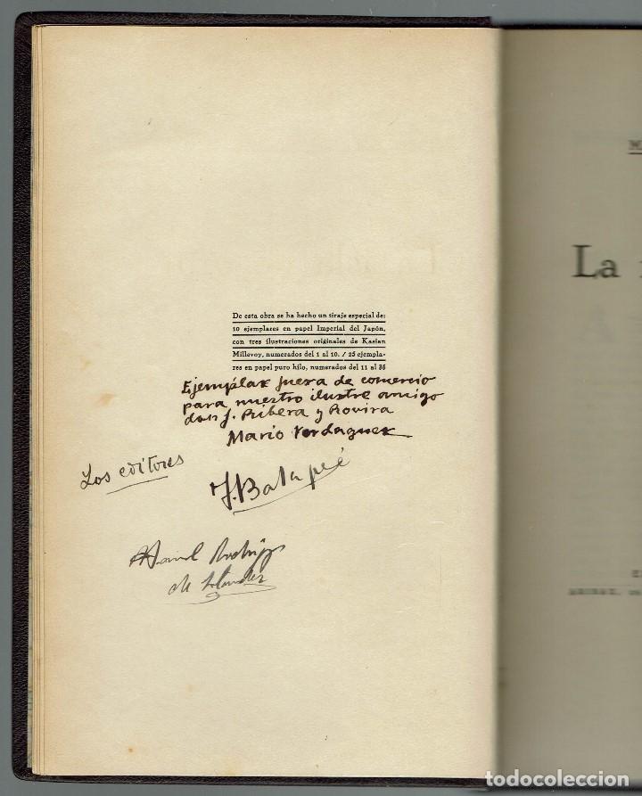 Libros antiguos: LA ISLA DE ORO, POR MARIO VERDAGUER DE TRAVESÍ. AÑO 1926. (MENORCA.1.4) - Foto 3 - 164793602