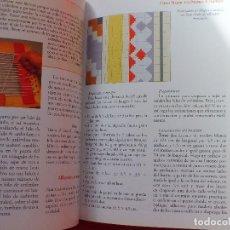 Libros antiguos: MANUAL ALFOMBRAS REALIZA TU PROPIA ALFOMBRA TEJIDA DE NUDOS.... Lote 164959010
