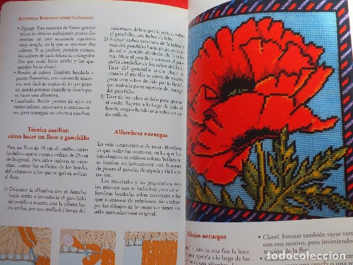 Libros antiguos: MANUAL ALFOMBRAS REALIZA TU PROPIA ALFOMBRA TEJIDA DE NUDOS... - Foto 8 - 164959010