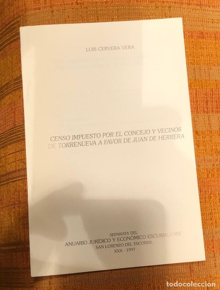CENSO IMPUESTO POR EL CONCEJO Y VECINOS DE TORRENUEVA A FAVOR DE JUAN DE HERRERA-LCV(13€) (Libros Antiguos, Raros y Curiosos - Bellas artes, ocio y coleccionismo - Otros)