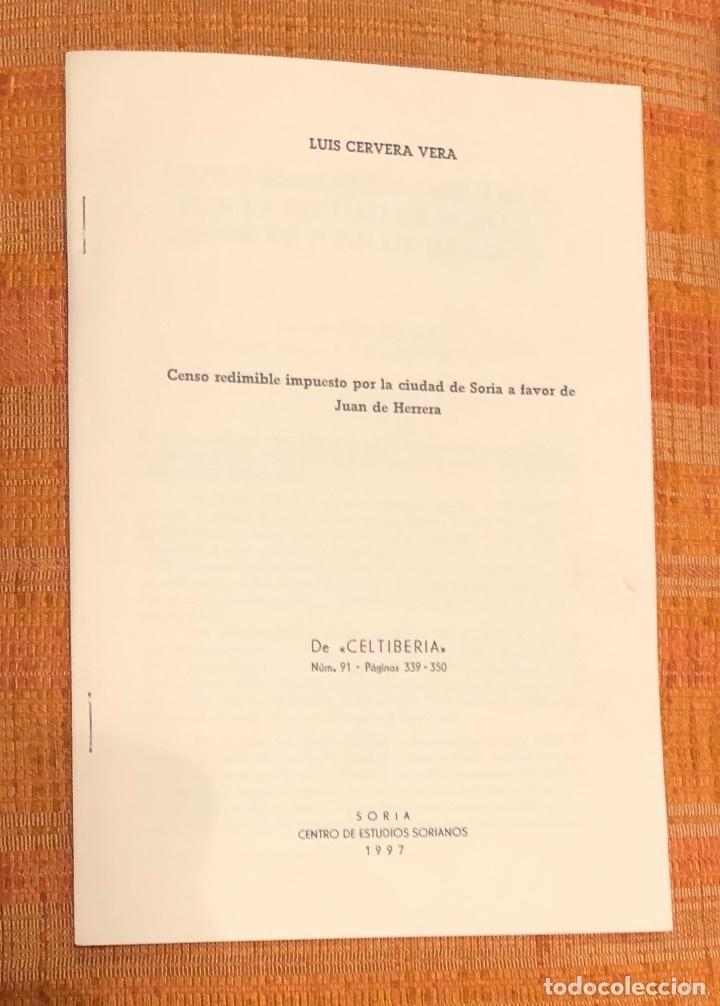 CENSO REDIMIBLE IMPUESTO POR LA CIUDAD DE SORIA A FAVOR DE JUAN DE HERRERA-LCV(13€) (Libros Antiguos, Raros y Curiosos - Bellas artes, ocio y coleccionismo - Otros)