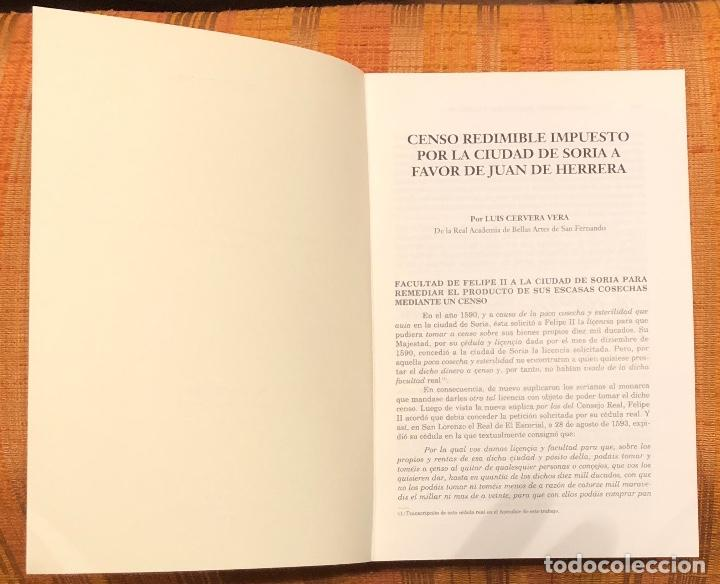Libros antiguos: Censo redimible impuesto por la ciudad de Soria a favor de Juan de Herrera-LCV(13€) - Foto 2 - 164970026