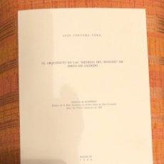 Libros antiguos: EL ARQUITECTO EN LAS MEDIDAS DEL ROMANO DE DIEGO DE SAGREDO-LCV(13€). Lote 164970726