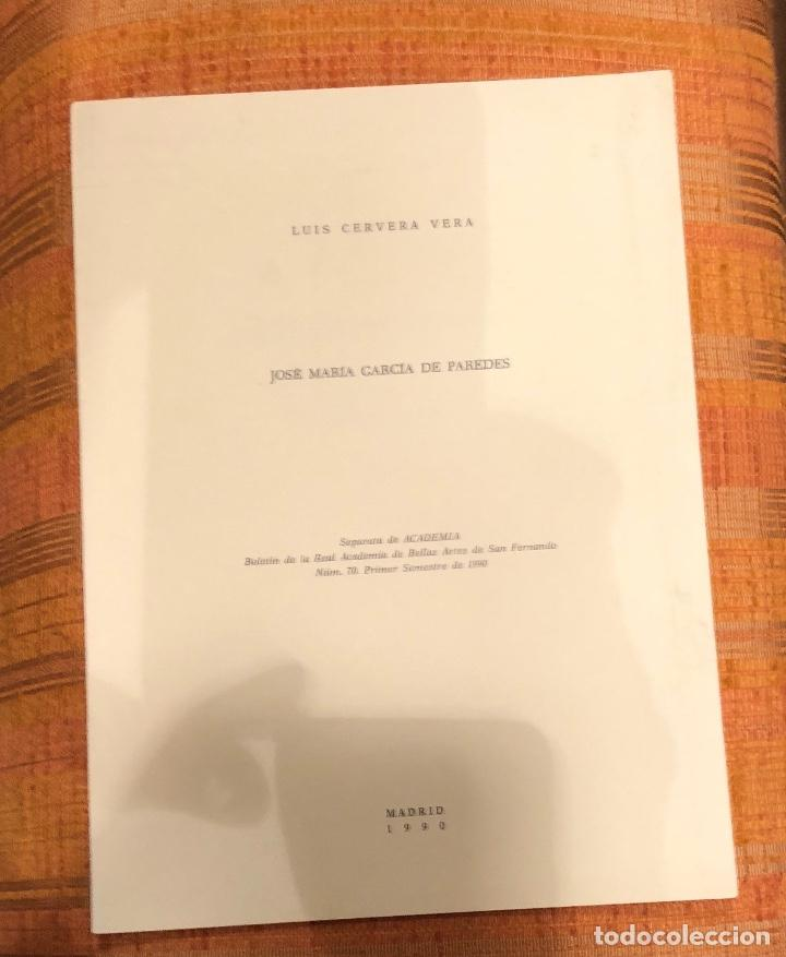 JOSÉ MARÍA GARCÍA DE PAREDES-RABASF-LCV(13€) (Libros Antiguos, Raros y Curiosos - Bellas artes, ocio y coleccionismo - Otros)