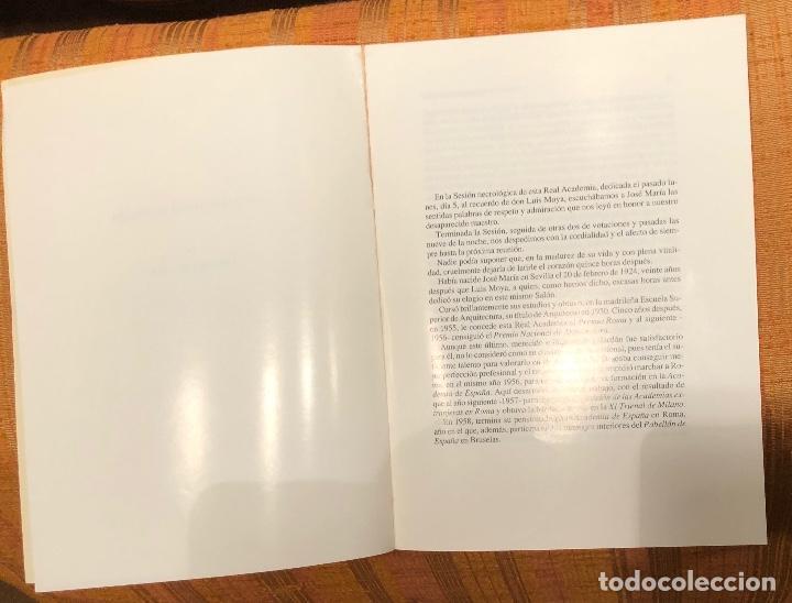 Libros antiguos: José María García de Paredes-RABASF-LCV(13€) - Foto 2 - 164971582