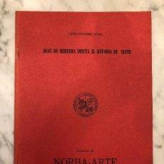 Libros antiguos: JUAN DE HERRERA DISEÑA EL RETABLO DE YUSTE(13€). Lote 164971654