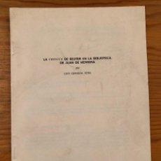Libros antiguos: LA CRÓNICA DE DE BEUTER EN LA BIBLIOTECA DE JUAN DE HERRERA-LCV(13€). Lote 164972390