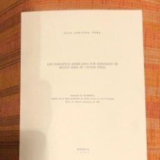 Libros antiguos: LOS CONCEPTOS ASIMILADOS POR HIPODAMO DE MILETO PARA SU CIUDAD IDEAL-RABASF-LCV(13€). Lote 164973238