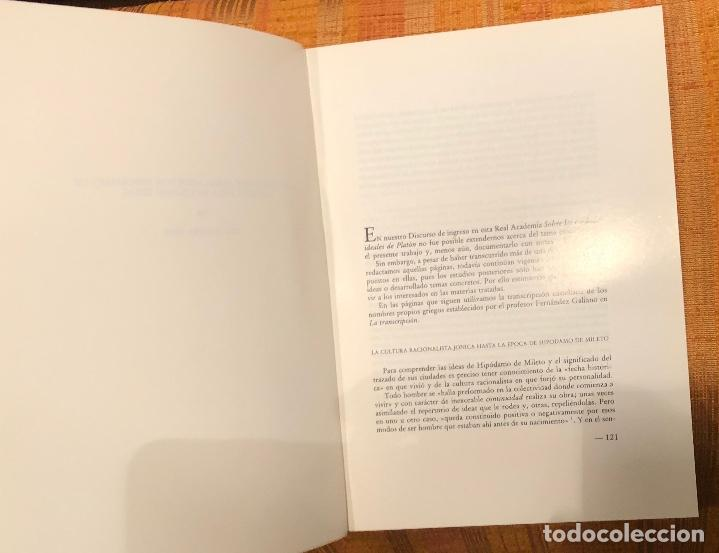 Libros antiguos: Los conceptos asimilados por Hipodamo de Mileto para su Ciudad ideal-RABASF-LCV(13€) - Foto 2 - 164973238
