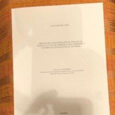 Libros antiguos: PRIVILEGIOCONCEDIDOPORSENADOVENECIA AJUANHERRERA PARA IMPRIMIRYYVENDER SUS ESTAMPASESCORIAL-LCV(13€). Lote 164974066