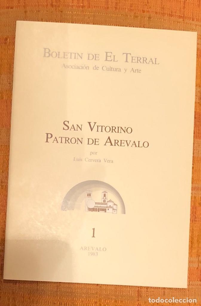 SAN VITORINO. PATRÓN DE AREVALO -LCV(13€) (Libros Antiguos, Raros y Curiosos - Bellas artes, ocio y coleccionismo - Otros)