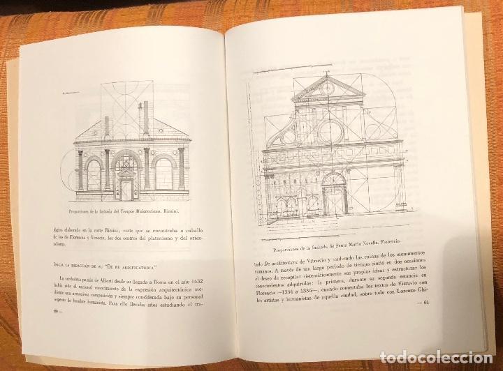 Libros antiguos: Sobre Alberti y la creación de su De Re Aedificatoria-LCV(13€) - Foto 2 - 164974274