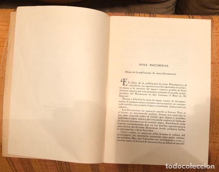 Libros antiguos: Document relativs a estampas MonasterioSanLorenzo el Real El Escorial dibujadasJuanHerrera LCV(26€) - Foto 2 - 164975526