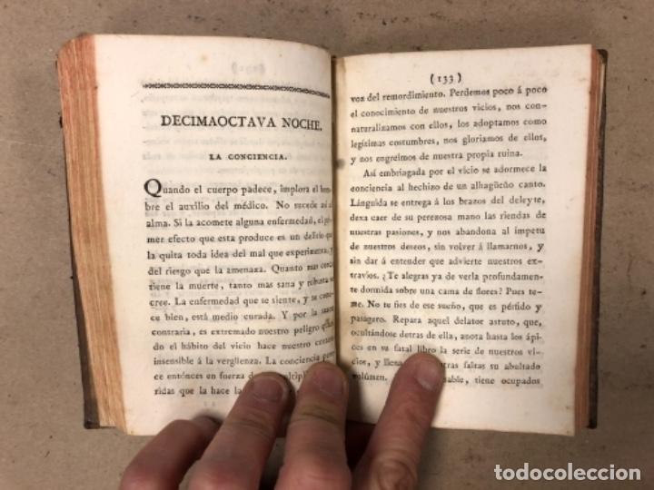 Libros antiguos: OBRAS SELECTAS DE EDUARDO YOUNG (TOMO III). AÑO 1804 MADRID EN LA IMPRENTA REAL. - Foto 7 - 164978326