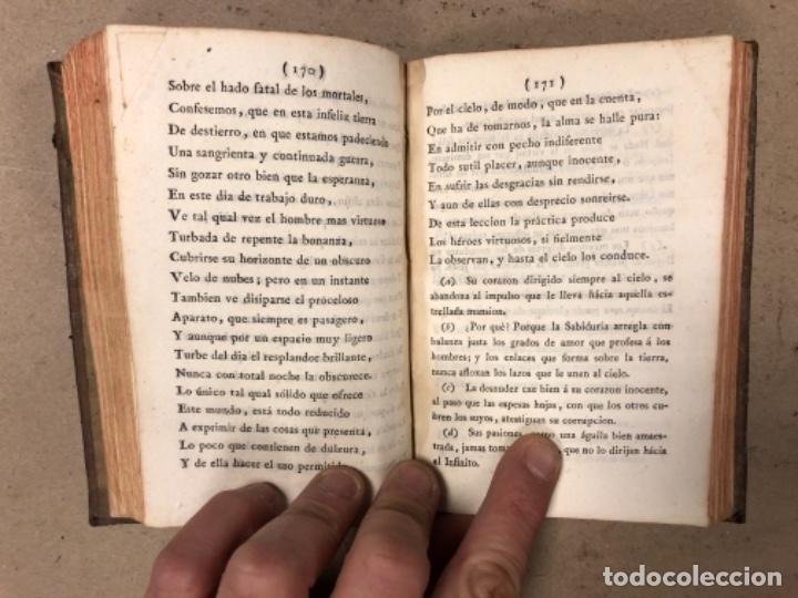 Libros antiguos: OBRAS SELECTAS DE EDUARDO YOUNG (TOMO III). AÑO 1804 MADRID EN LA IMPRENTA REAL. - Foto 8 - 164978326