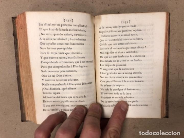 Libros antiguos: OBRAS SELECTAS DE EDUARDO YOUNG (TOMO III). AÑO 1804 MADRID EN LA IMPRENTA REAL. - Foto 9 - 164978326