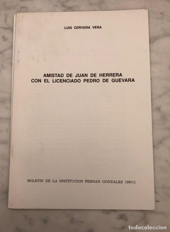 AMISTAD DE JUAN DE HERRERA CON EL LICENCIADO PEDRO DE GUEVARA-BIFG-LCV(13€) (Libros Antiguos, Raros y Curiosos - Bellas artes, ocio y coleccionismo - Otros)