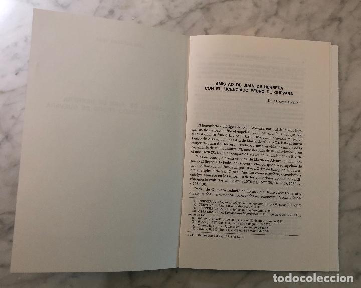 Libros antiguos: Amistad de Juan de Herrera con el licenciado Pedro de Guevara-BIFG-LCV(13€) - Foto 2 - 164984646