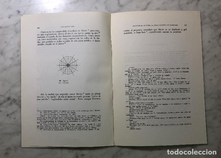 Libros antiguos: CUCOPOLISdeLAS NUBES.La ciudad fantástica de Aristófanes-RABASIH-LCV(13€) - Foto 3 - 164984826