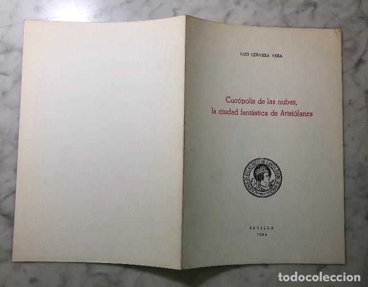 Libros antiguos: CUCOPOLISdeLAS NUBES.La ciudad fantástica de Aristófanes-RABASIH-LCV(13€) - Foto 4 - 164984826