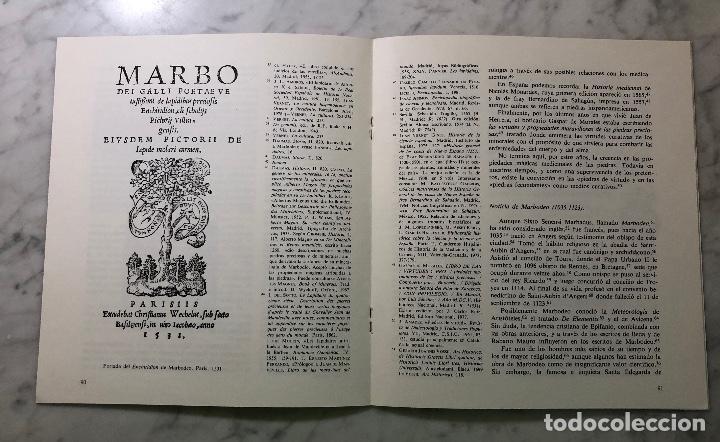 Libros antiguos: El ENCHIRIDION de Marbodeo en la biblioteca de Juan de Herrera-UJV-LCV(13€) - Foto 2 - 164984914