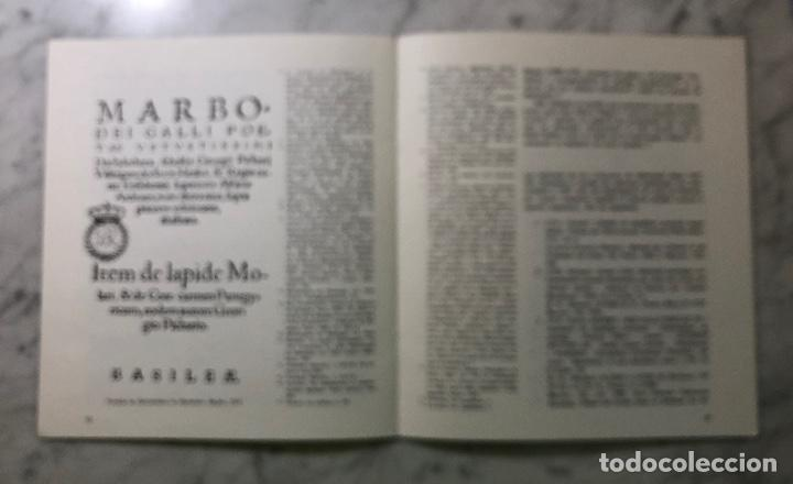 Libros antiguos: El ENCHIRIDION de Marbodeo en la biblioteca de Juan de Herrera-UJV-LCV(13€) - Foto 3 - 164984914