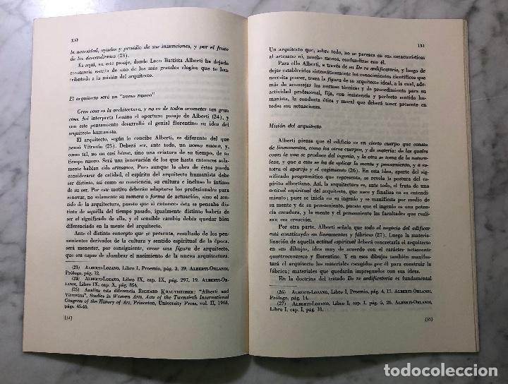 Libros antiguos: El arquitecto humanista ideal concebido por León Batista Alberti-RIE -LCV(13€) - Foto 2 - 164984938