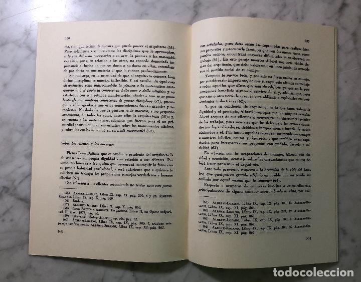 Libros antiguos: El arquitecto humanista ideal concebido por León Batista Alberti-RIE -LCV(13€) - Foto 3 - 164984938