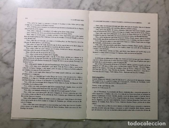 Libros antiguos: El censo impuesto por la ciudad de Murcia a favor de Juan de Harrera -IMAFRONTE-Murcia-LCV(13€) - Foto 2 - 164984978
