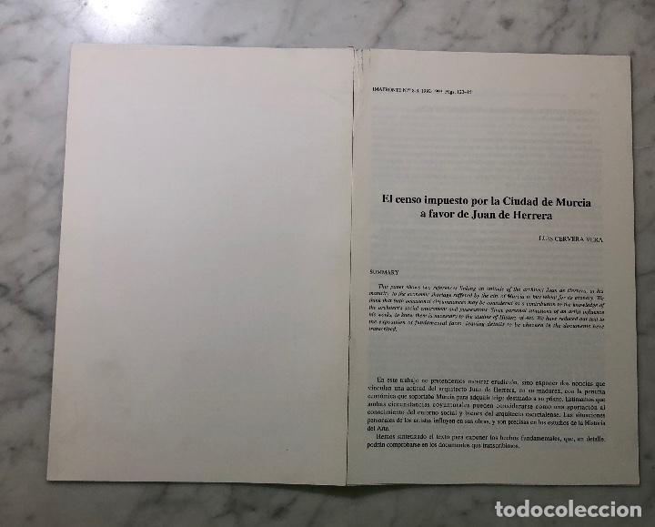 Libros antiguos: El censo impuesto por la ciudad de Murcia a favor de Juan de Harrera -IMAFRONTE-Murcia-LCV(13€) - Foto 4 - 164984978