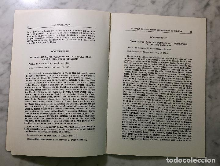Libros antiguos: El Duque de Lerma funda dos cátedras de teología en Alcalá de Henares- ABHBA -LCV(13€) - Foto 3 - 164985006