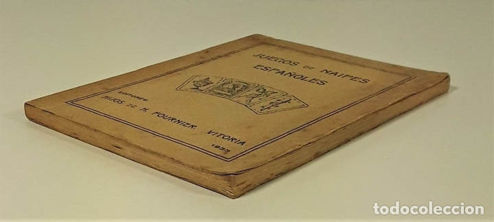 Libros antiguos: JUEGOS DE NAIPES ESPAÑOLES. EDITORES HIJOS DE H. FOURNIER. VITORIA. 1933. - Foto 2 - 165050594