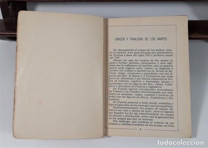 Libros antiguos: JUEGOS DE NAIPES ESPAÑOLES. EDITORES HIJOS DE H. FOURNIER. VITORIA. 1933. - Foto 4 - 165050594