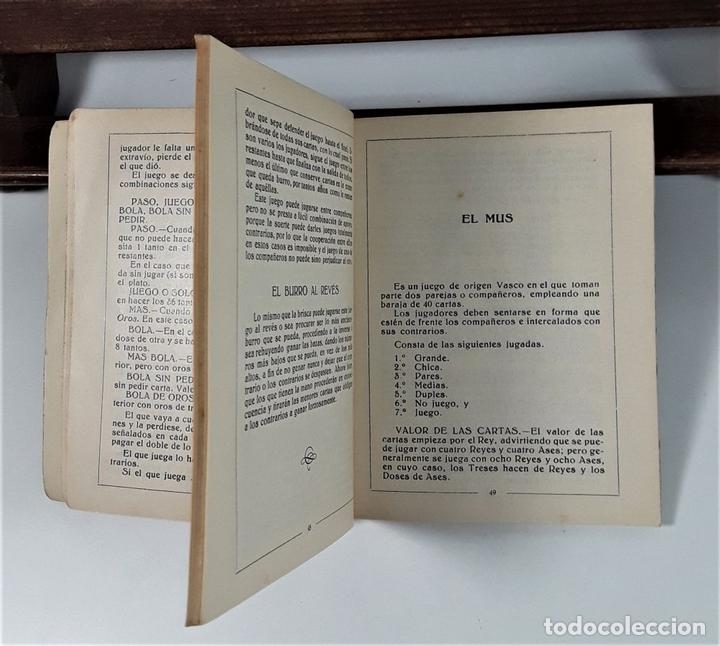 Libros antiguos: JUEGOS DE NAIPES ESPAÑOLES. EDITORES HIJOS DE H. FOURNIER. VITORIA. 1933. - Foto 5 - 165050594