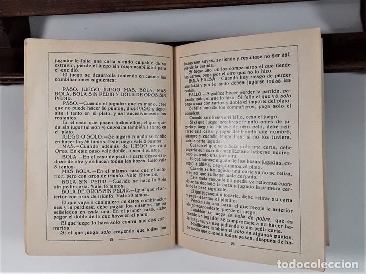 Libros antiguos: JUEGOS DE NAIPES ESPAÑOLES. EDITORES HIJOS DE H. FOURNIER. VITORIA. 1933. - Foto 6 - 165050594