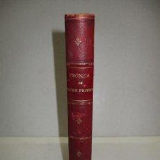 Libros antiguos: CRONICA O COMENTARIS DEL GLORIOSISSIM Y INVICTISSIM REY EN JAUME PRIMER,... 1905.. Lote 165079606