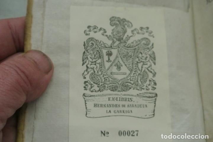 Libros antiguos: Recitaciones in elementa juris civilis 1726. Antiguo libro - Foto 2 - 165132442