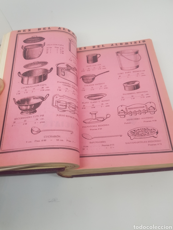 Libros antiguos: Tomo de la revista menaje de cocina año 1933 época República española - Foto 5 - 165183885