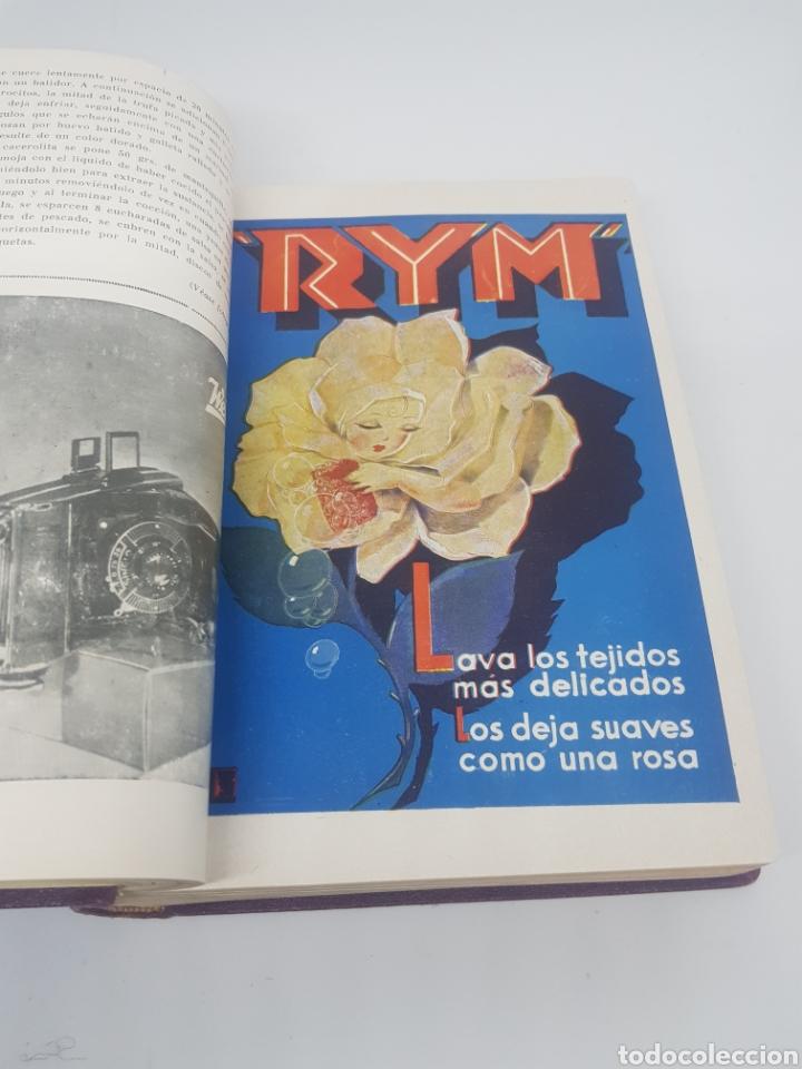 Libros antiguos: Tomo de la revista menaje de cocina año 1933 época República española - Foto 7 - 165183885