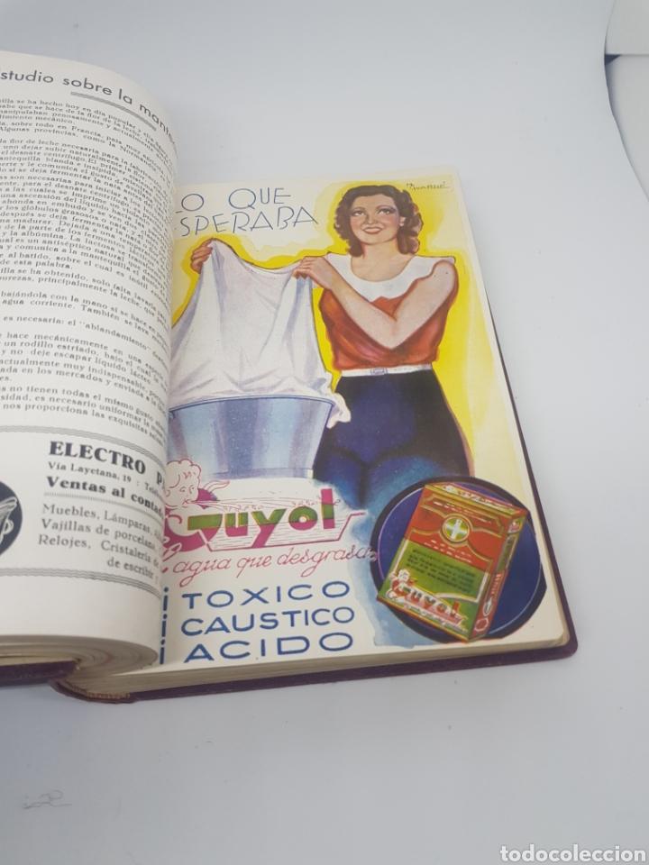 Libros antiguos: Tomo de la revista menaje de cocina año 1933 época República española - Foto 10 - 165183885
