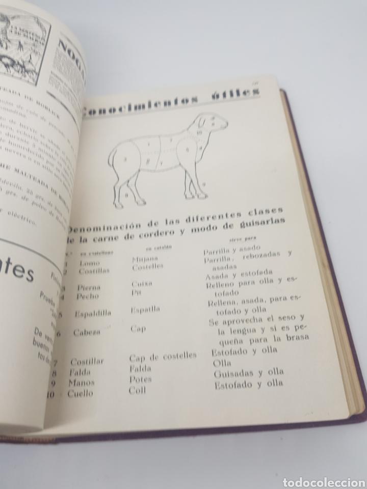 Libros antiguos: Tomo de la revista menaje de cocina año 1933 época República española - Foto 12 - 165183885
